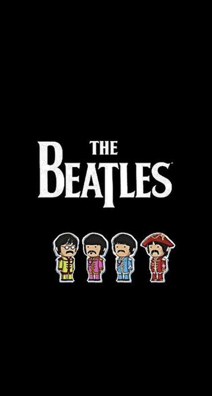 The Beatles Logo iPhone 5 Wallpaper Download iPad
