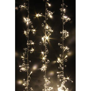 Crystal Chic LED String Lights : Warm White LED Fairy Lights Battery Operated
