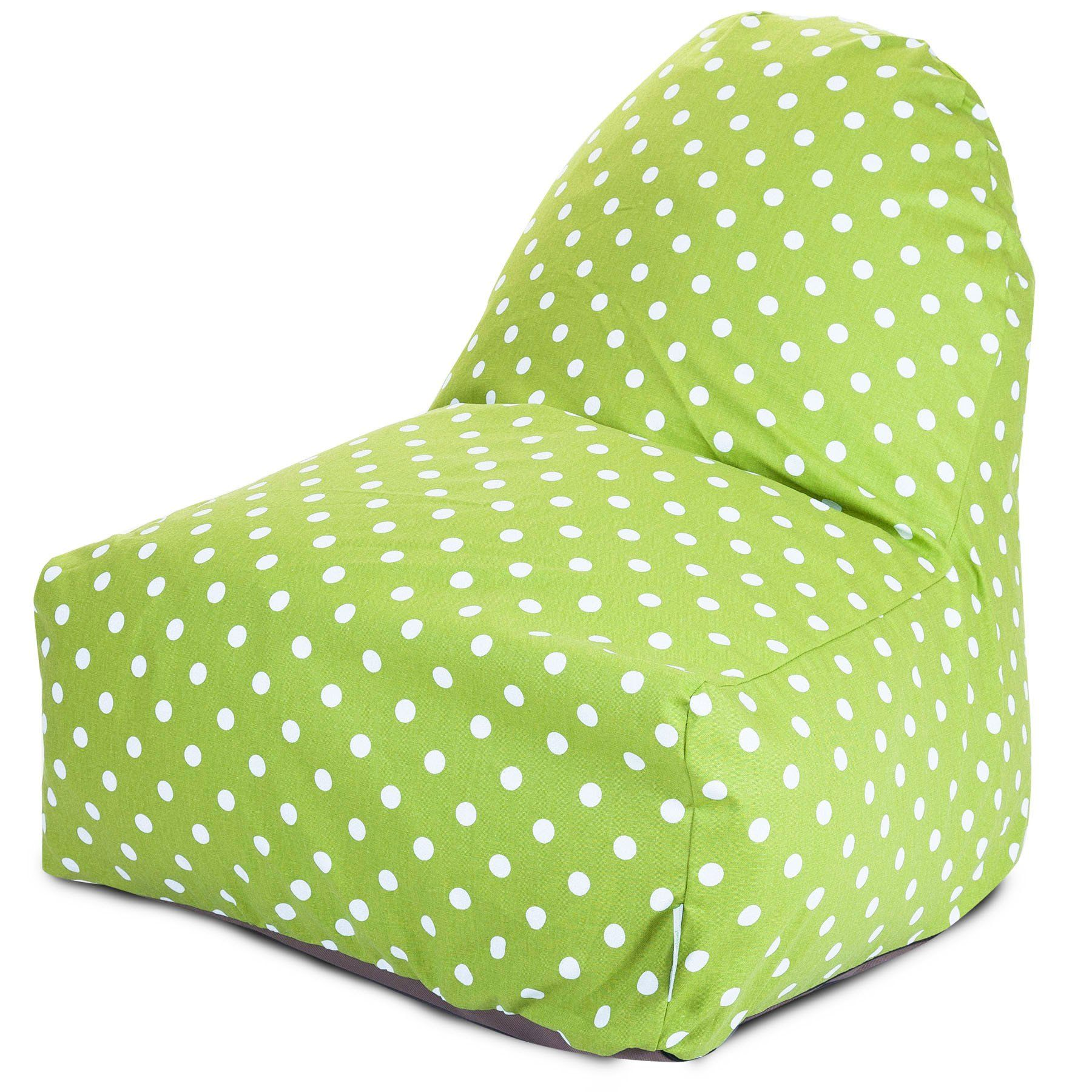 Lime small polka dot kickit chair limes and products