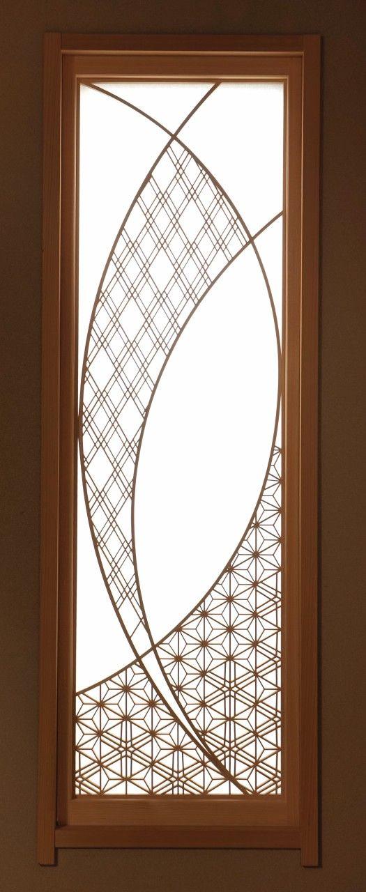 W様 組子建具 木製ドア ドアのデザイン フラッシュドア