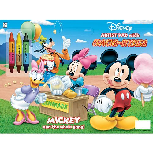 Mickey Mouse Clubhouse Coloring Pad Book - Dalmation Press - Toys\