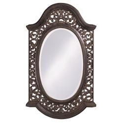 @Overstock - This mirror features an attractive antique black finish with silver highlights. This wall accent can hang either vertically or horizontally for convenience.http://www.overstock.com/Home-Garden/Antique-Black-Mirror-with-Silver-Highlights/6573168/product.html?CID=214117 $125.99