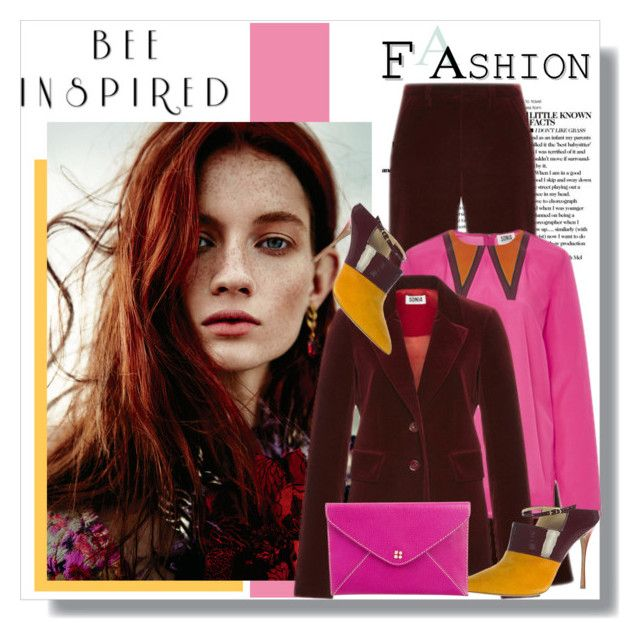 """""""My Mood Today"""" by lidia-solymosi ❤ liked on Polyvore featuring Sonia by Sonia Rykiel, Nicholas Kirkwood and Kate Spade"""