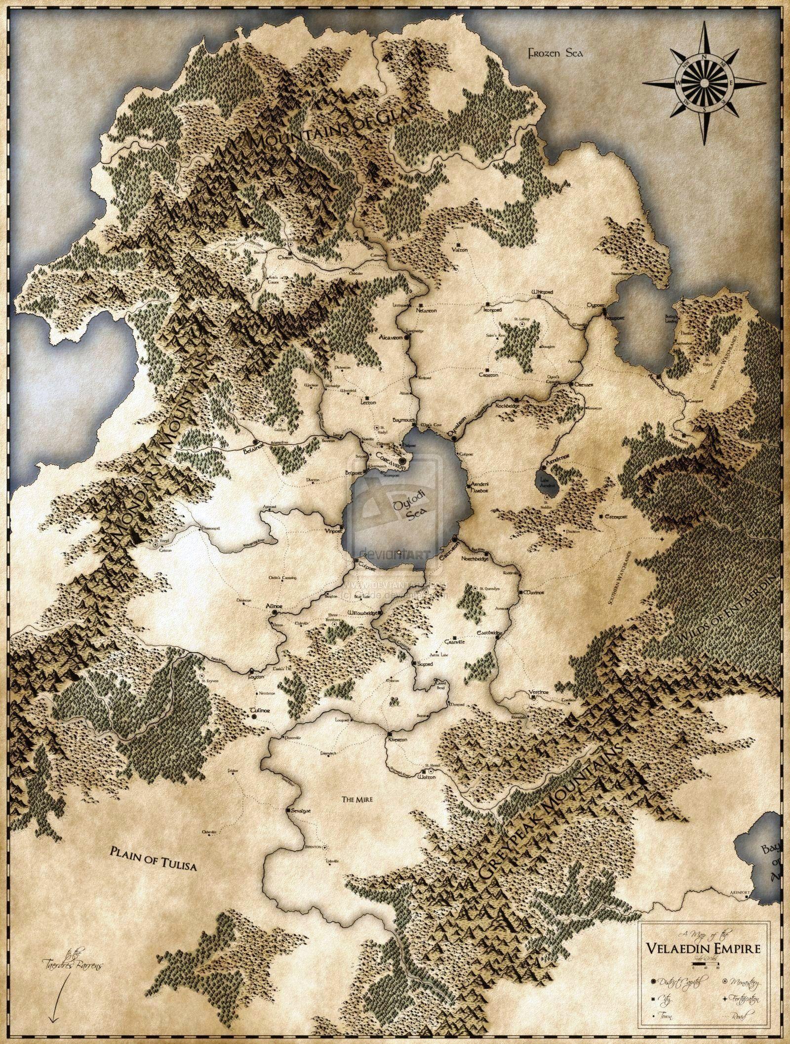 Velaedin_empire_by_gidde-d2usi1h | Gaming Maps | Pinterest | Empire ...