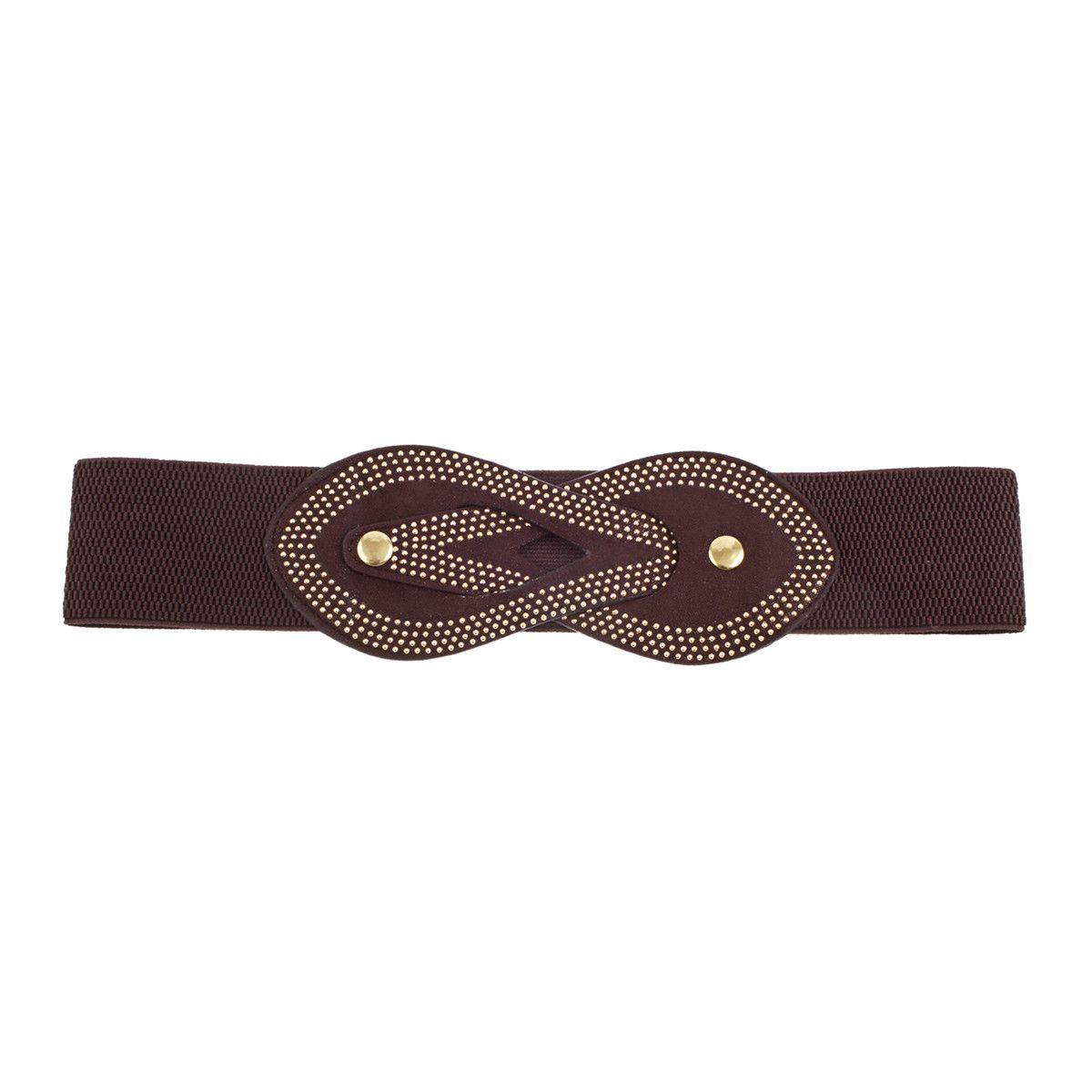 Fab.com | Small Rivet Belt Brown