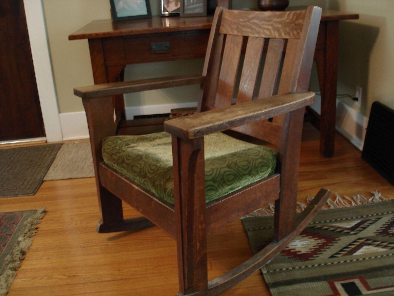 Limbert Rocking Chair Furniture Craftsman Furniture