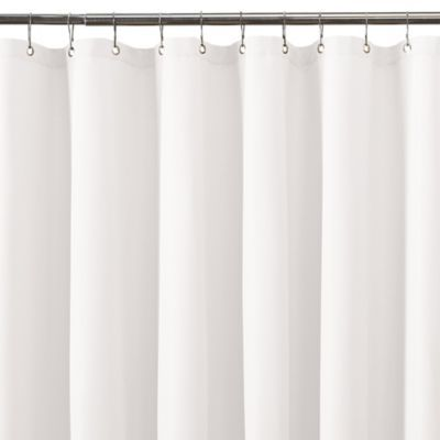 Titan Waterproof 70 Inch X 84 Inch Plain Shower Curtain Liner In