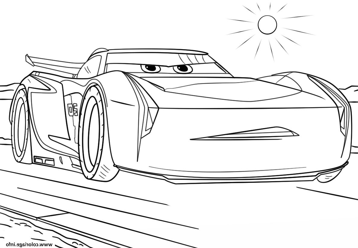 Jackson Storm From Cars 3 Disney Coloriage Color Me Coloring Pages