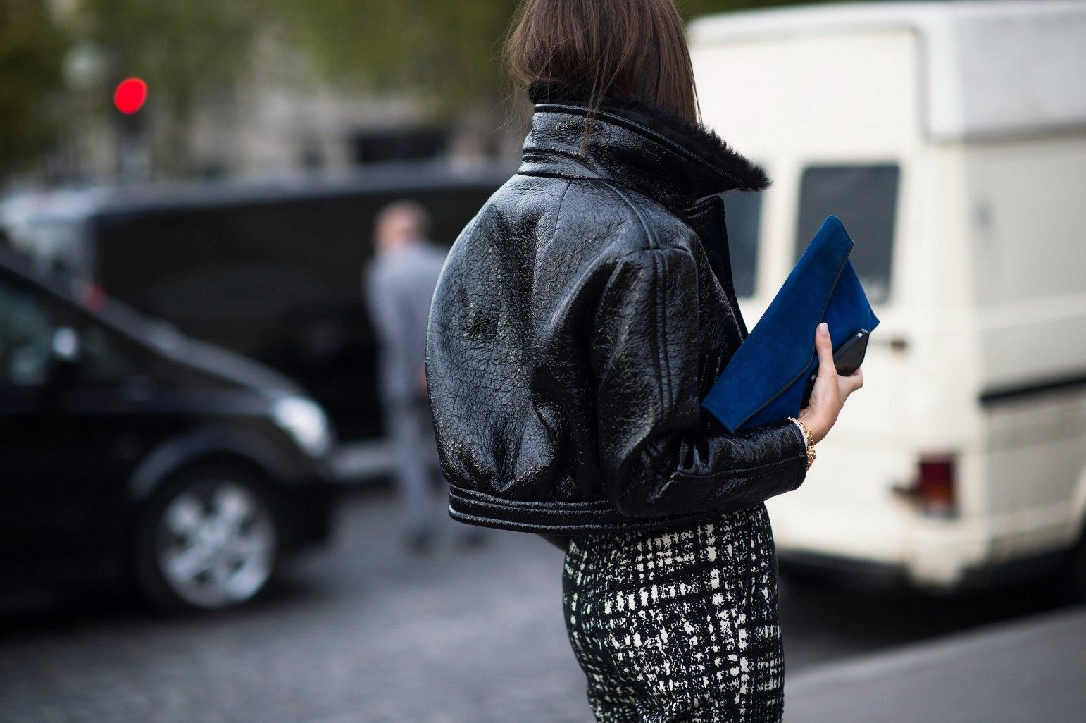 Street Style from Paris Fashion Week Spring 2014 - Paris Fashion Week Spring 2014 Street Style, Day 1