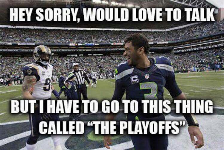 We Re In The Playoffs Again Nfl Jokes Nfl Memes Funny Nfl Funny