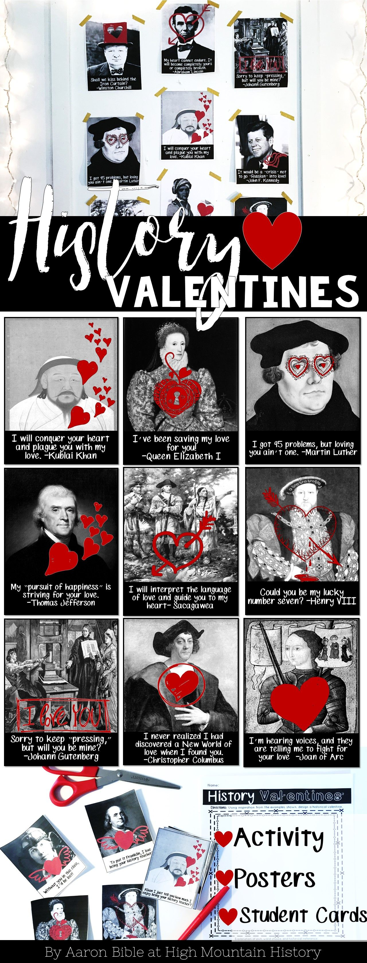 History Valentines History Valentine S Day Activity