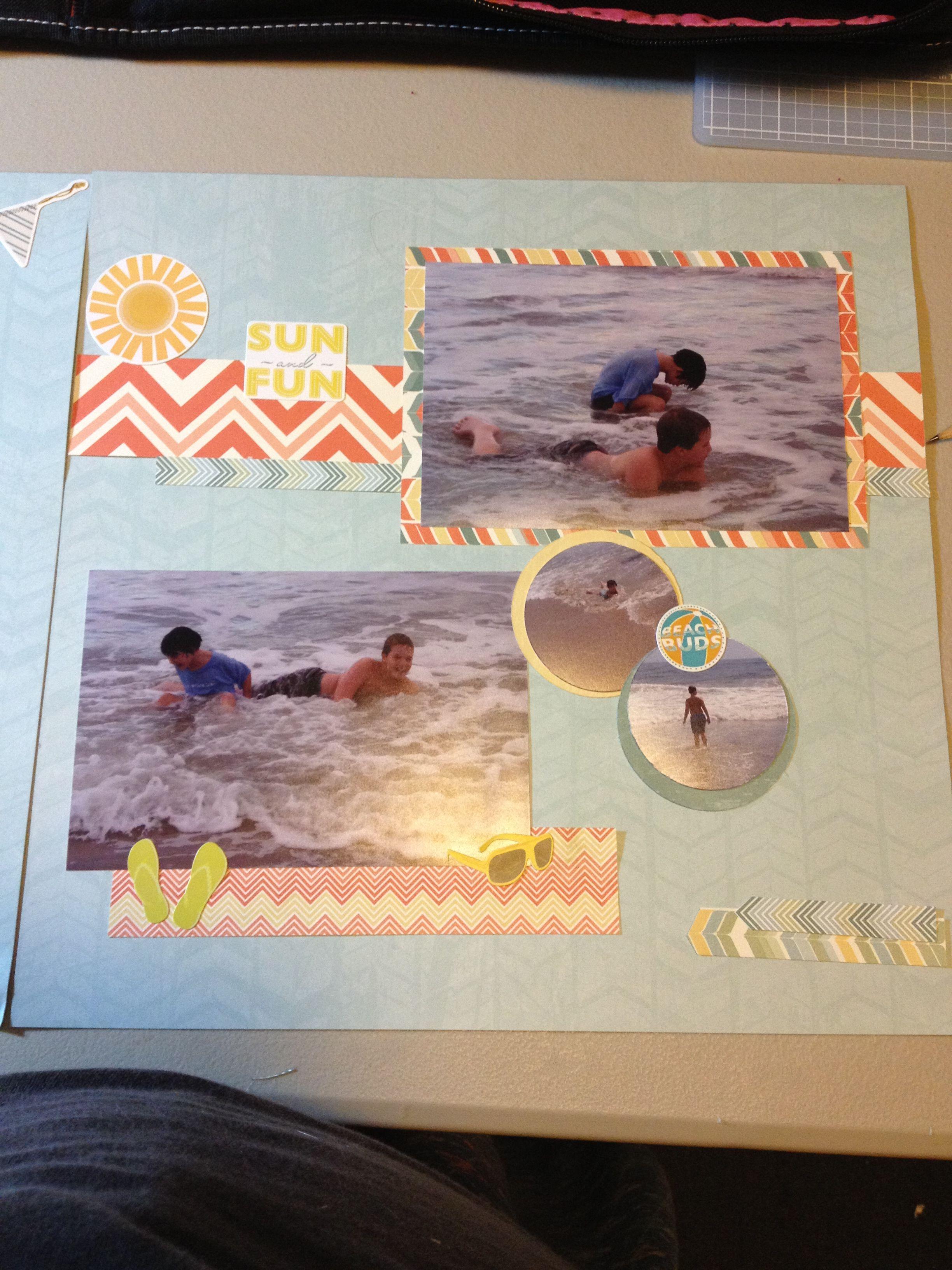 Scrapbook ideas creative memories - Creative Memories Summer Addition