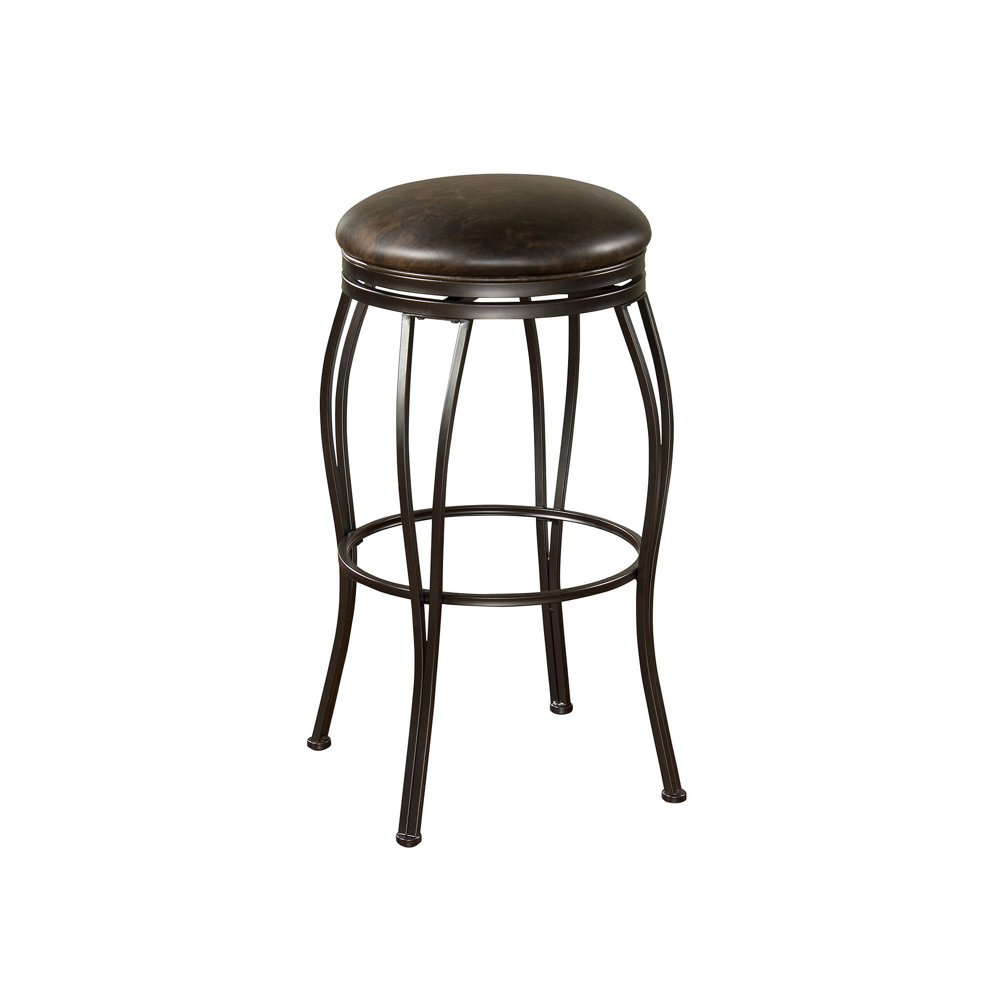 American Heritage Billiards Romano Swivel Counter Stool