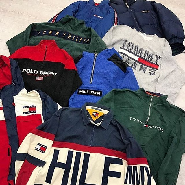 Vintage Tommy Hilfiger and vintage Polo Ralph Lauren sport jackets from  Gully Garms. 56c5706331