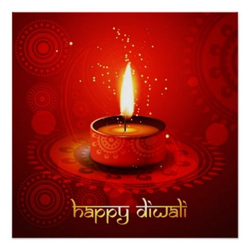 Beautiful Red Background Happy Diwali Poster | Happy diwali hd wallpaper, Happy diwali images, Diwali greetings