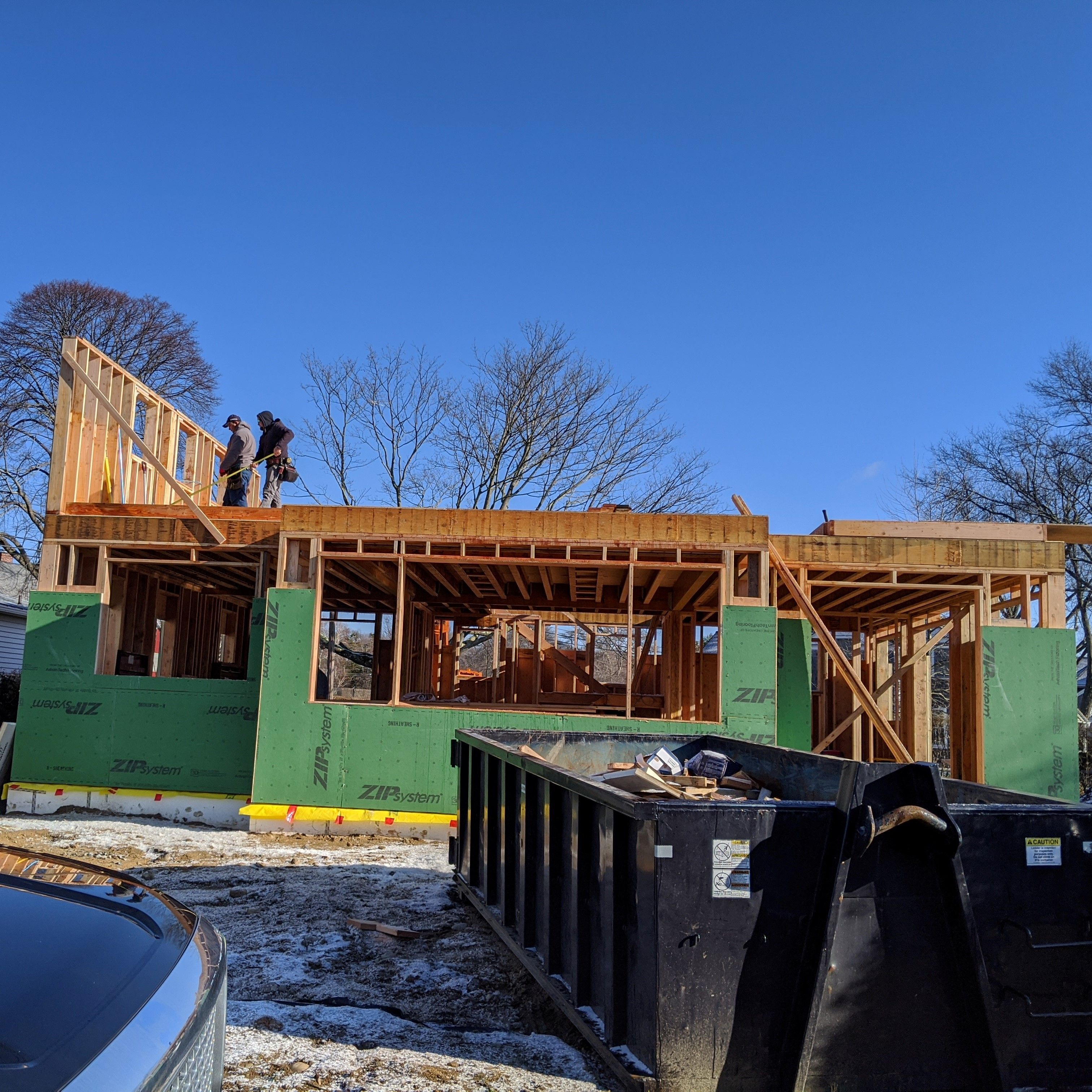 The 1st Floor Is Framed At Blackpointbeachcottage And The 2nd Floor Is Underway In A Week They Should Be Working On T Beach Cottages Architect Outdoor Decor
