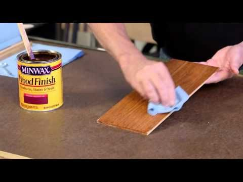 How To Finish Wood Wood Staining Tips Minwax Staining Wood Wood Finish Wood