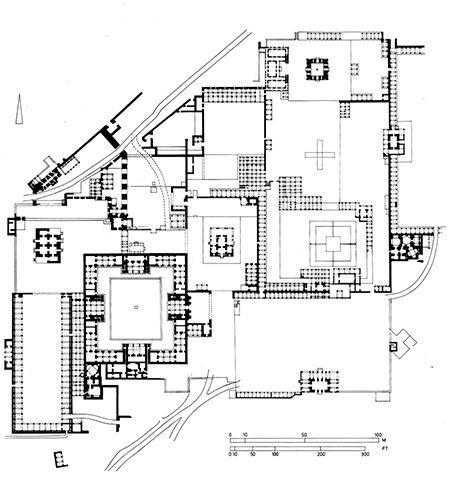 Fatehpur_Sikri-Plan_general Plans Pinterest Architecture
