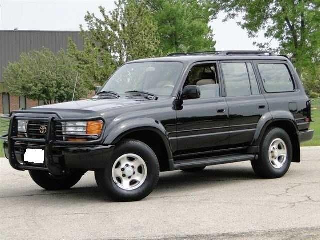 1996 Toyota Land Cruiser | 1996 Toyota Land Cruiser | Rides | Land