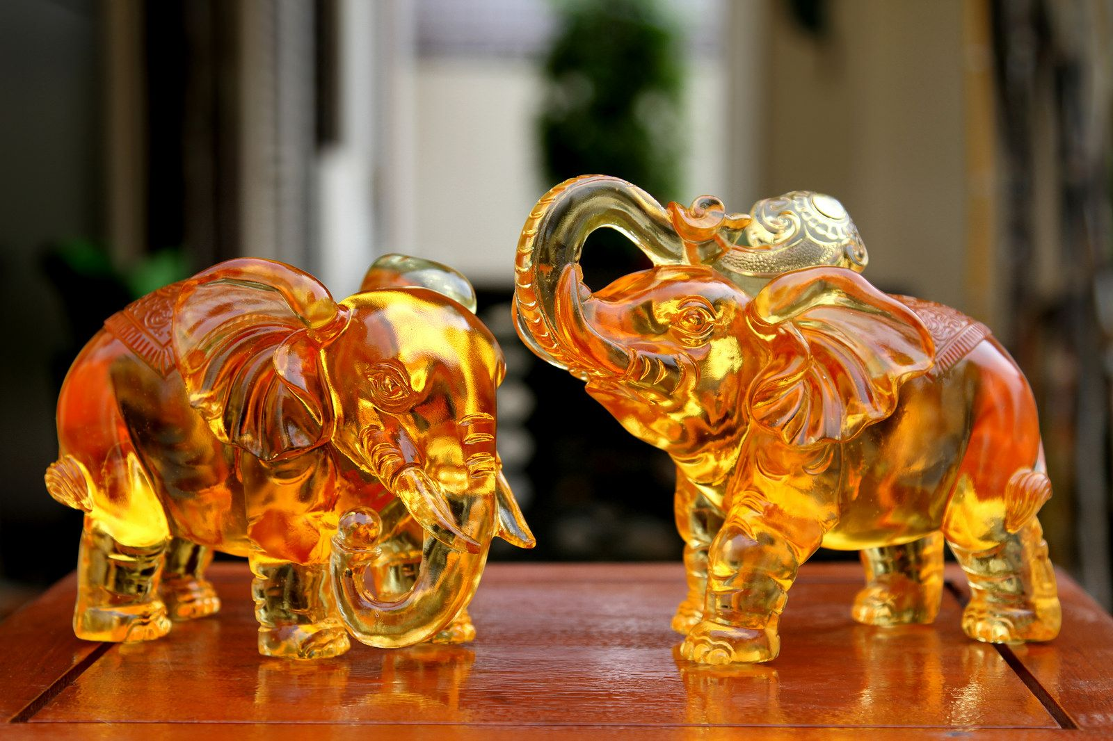 Placing A Statue Of An Elephant, Or A Pair Of Elephants, At The Front Door  Brings Good Luck, Protection And Strength To The Household.