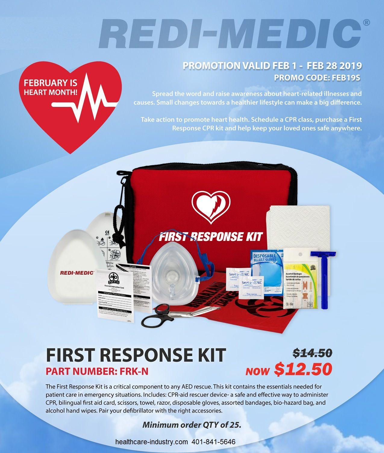 First Response Kit Sale! http//www.healthcareindustry