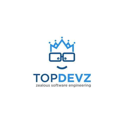 Topdevz Design A Clever Simple But Professional Logo For A Software Company Custom Software Developme Branding Design Logo Fashion Logo Branding Logo Design