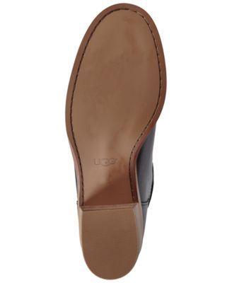 427dff955e7 Ugg Women s Carlin Block Heel Tall Boots - Brown 6.5
