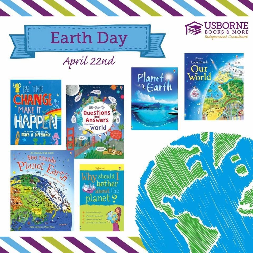 Usborne Books For Earth Day April 22nd Https G6796 Myubam Com Search Q Earth Usborne Books Usborne Books Party Usborne Books Consultant Earth day read alouds