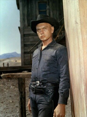 Yul Brynner The Magnificent Seven 1960