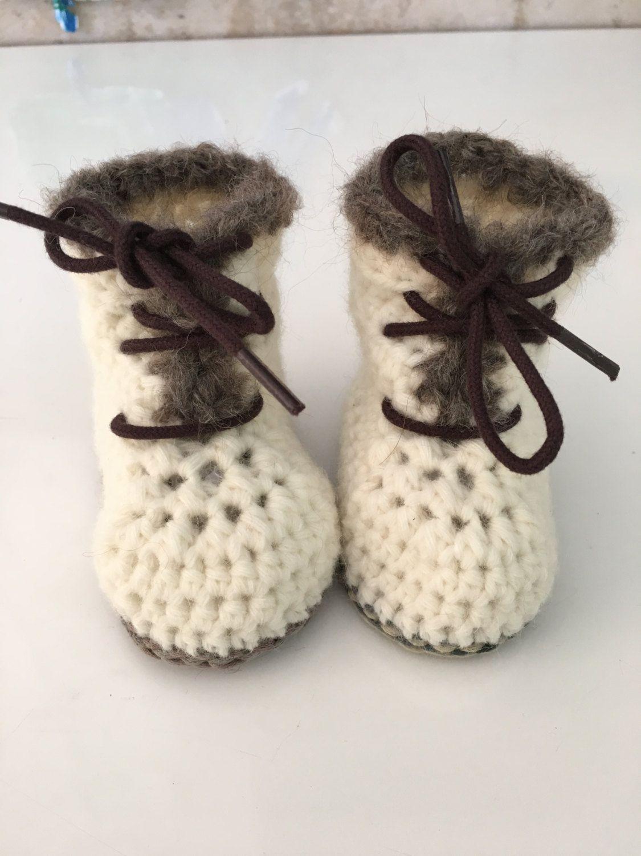 Baby-Winterstiefelchen / Baby Winterboots von LouMonro auf Etsy ...