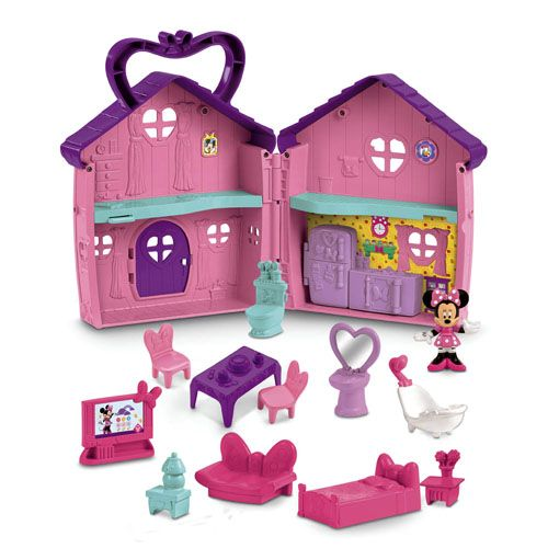 Minnie Mouse S House Minnie Mouse Clubhouse Minnie Mouse Toys Disney Mickey Mouse Clubhouse