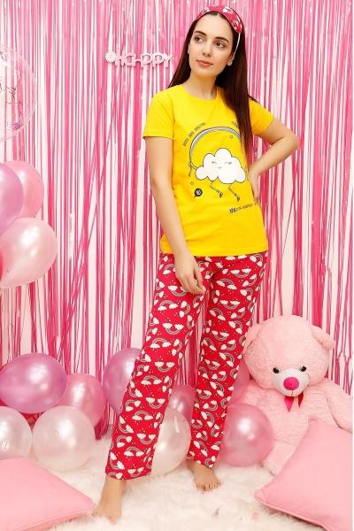 Bayan Pijama Takimi Ucuz Giyim Modivera Da Panosundaki Pin