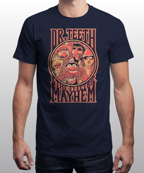 """""""Dr. Teeth"""" is today's £9/€11/$12 tee for 24 hours only on Pin this for…   Qwertee thumbnail"""