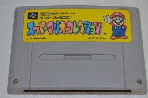 Super Mario Collection (Mario All-Stars) Super Famicom (Japanese Super NES Import)  http://www.cheapgamesshop.com/super-mario-collection-mario-all-stars-super-famicom-japanese-super-nes-import/