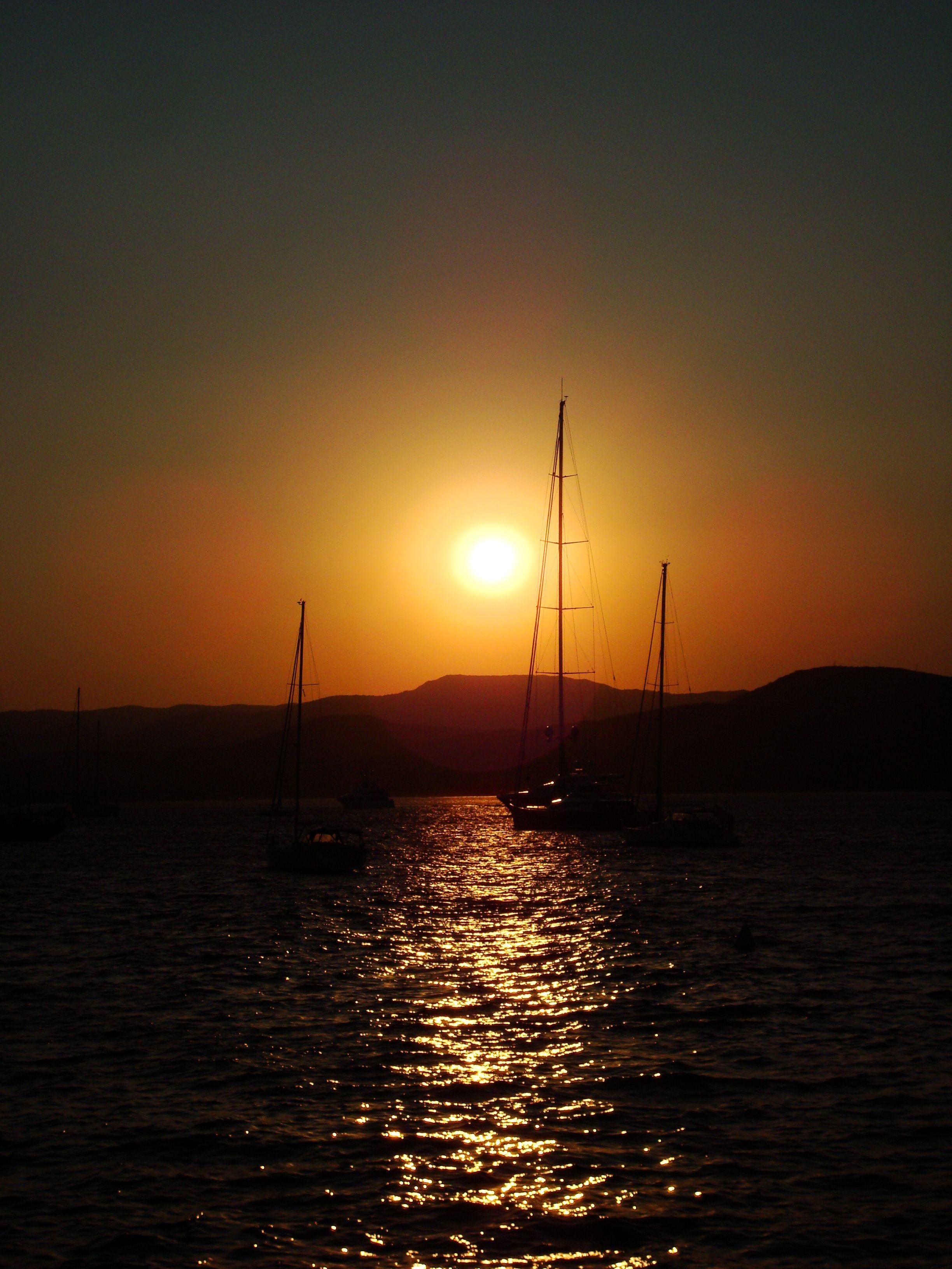 Sunset at St. Tropez