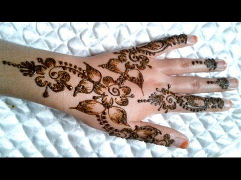 النقش بالحناء جديد و أنيق بسيط و سهل تصاميم للمبتدئين من عالم الأعمال اليدوية و النقش بالحناء Tv You Simple Mehndi Designs Mehndi Designs Henna Hand Tattoo