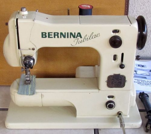 Vintage 40 Bernina 40j Jubilae Sewing Machine With Knee Magnificent Bernina Sewing Machine Problems Solutions