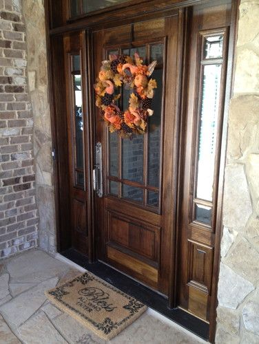 Custom Home in Barefoot Cove - traditional - front doors - atlanta ...