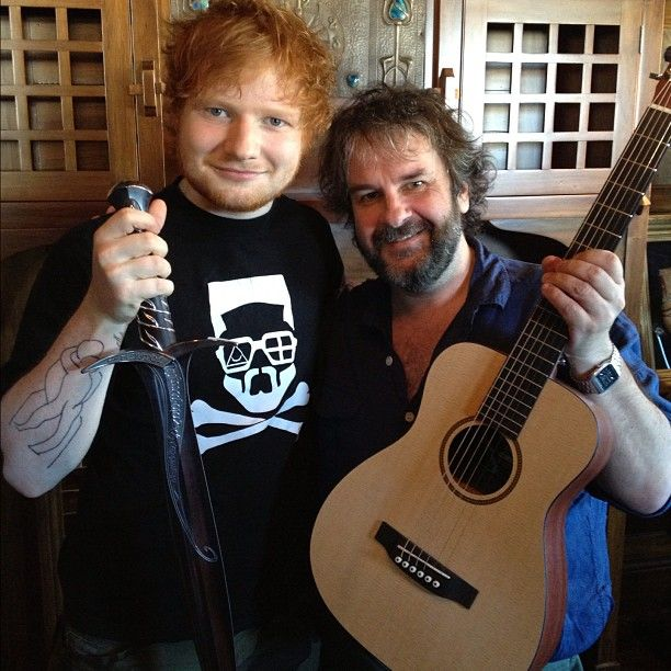 Photo By Teddysphotos Ed Sheeran The Hobbit Jackson