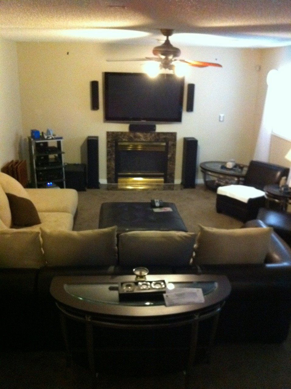 Home theater Setup In Living Room Beautiful Incredible