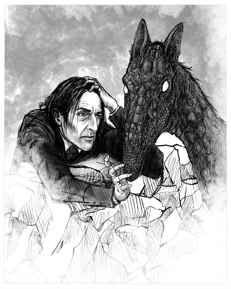 25 Days Of Drawing 2018 Chapter 6 Mywitch Harry Potter J K Rowling Archive Of Our Own Young Snape Yer A Wizard Harry Young Severus Snape