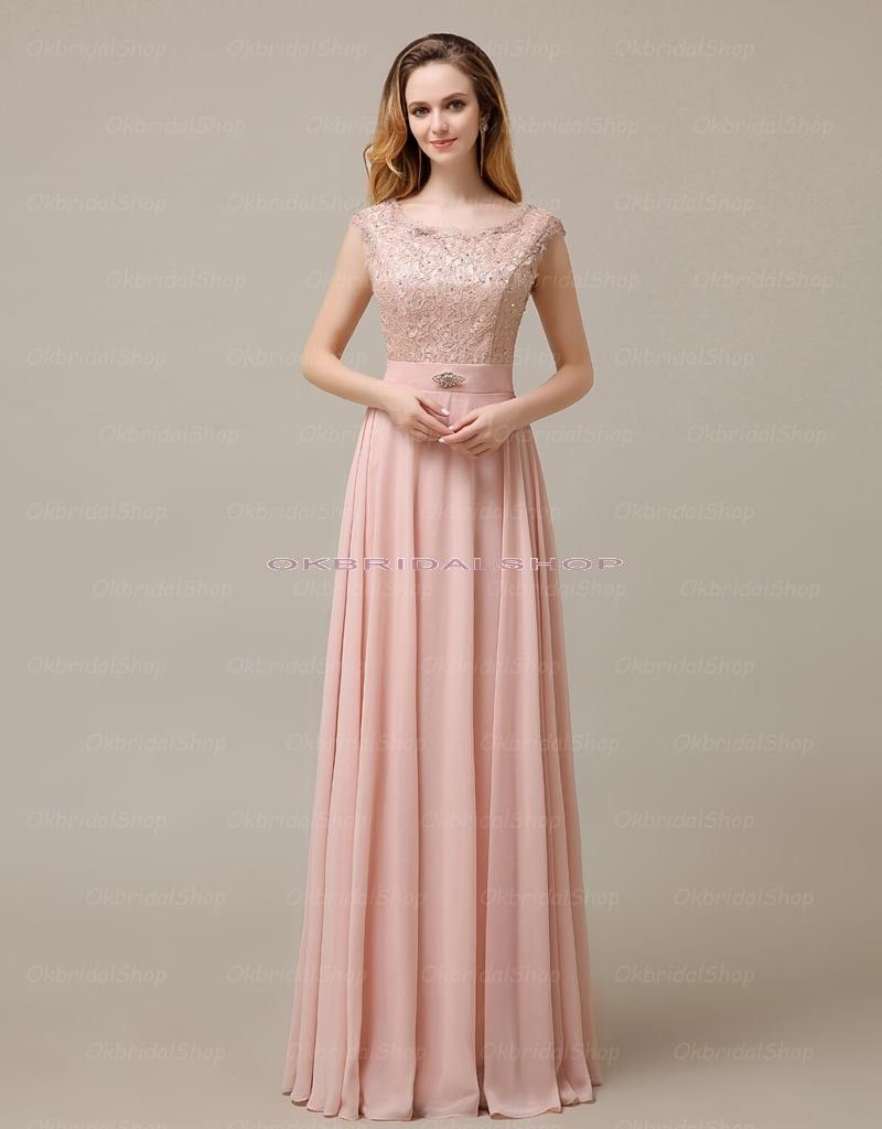 Images of Long Pink Dress - Reikian
