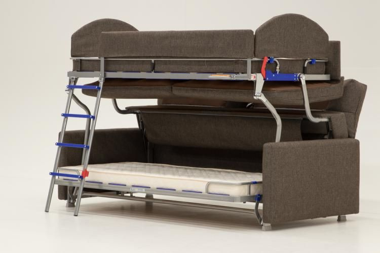 The Dormire Bunk Bed Couch Transformer Couch Bed Murphy Bunk