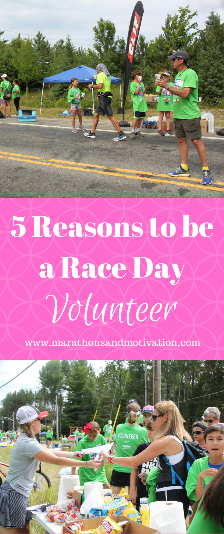 Five Reasons To Be A Race Day Volunteer Volunteering At A Triathlon Or Running Race Is An Incredibly Rewarding Exp Race Day Running Training Plan Running Race