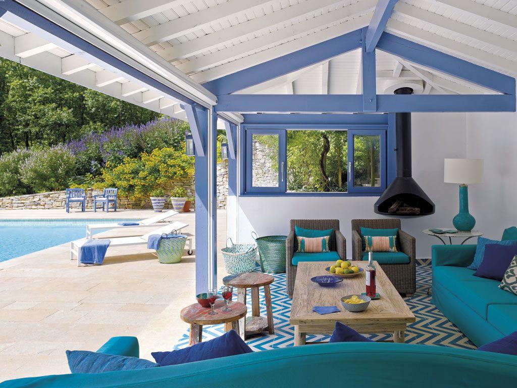 Resultado de imagem para decoração casa Verde, azul e violeta