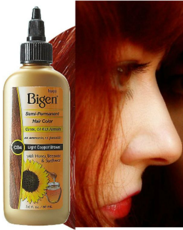 Keep Red Hair Vibrant Between Coloring With Bigen Semi Permanent
