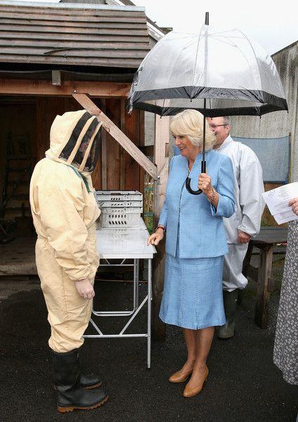 Camilla Parker Bowles Photos Photos: The Prince of Wales & Duchess of Cornwall Visit Wales - Day 3 #visitwales