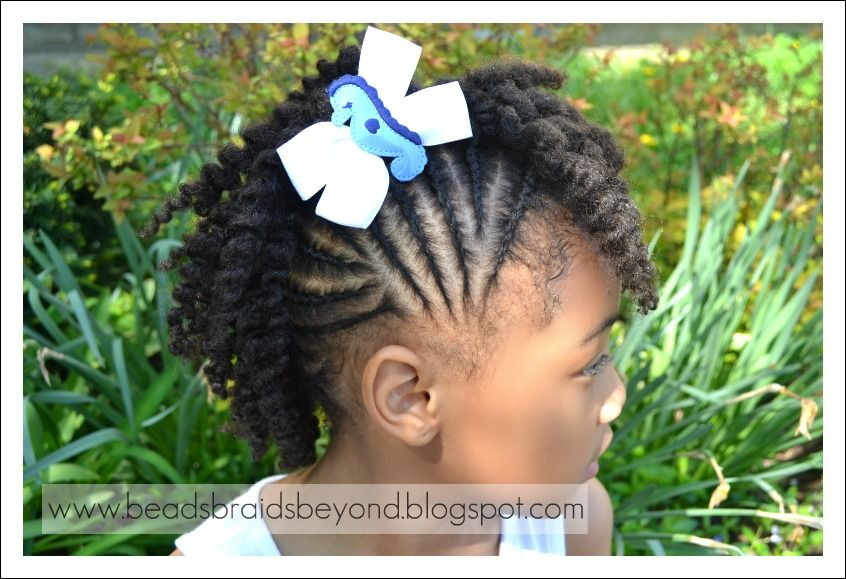 Fantastic 1000 Images About Little Girls Hair Styles On Pinterest African Hairstyles For Men Maxibearus