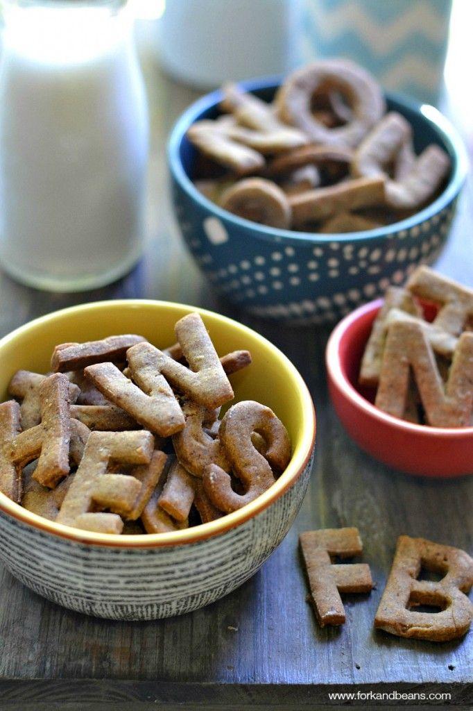 Cinnamon Abc Crackers Gluten Free Vegan Recipe Vegan Gluten