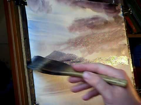 How to Complete a Watercolour Landscape Painting in Just 10 Minutes!